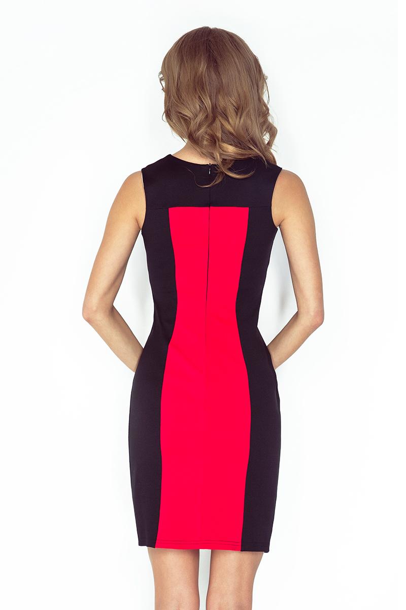 Kleid in schwarz farben
